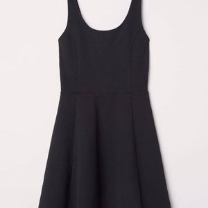 Black H&M Skater Dress
